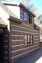 Fire Rated Concrete Log Siding