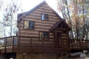 Fire-Proof Natural Brown Hand-Hewn Concrete Log Siding