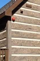 EverLog Concrete Log Siding Fire Rated To Four Hours