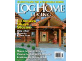 Log Home Living Magazine Featured Cover