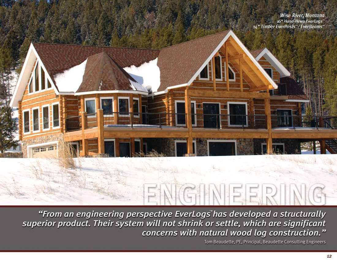 Tom Beaudette Testimonial about EverLog Concrete Logs