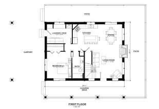 Salida Colorado Show Home First Floor Plan