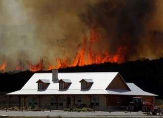 2014 Wildfire Season - Ranch Home