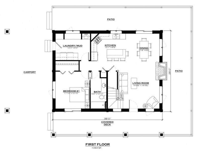 Salida Show Home First Floor