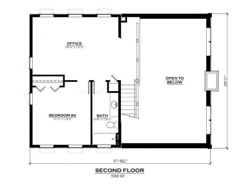 Salida Show Home Second Floor