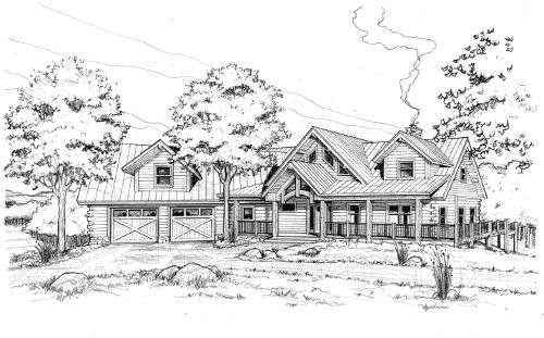 The Blue Ridge: Exterior Rendering
