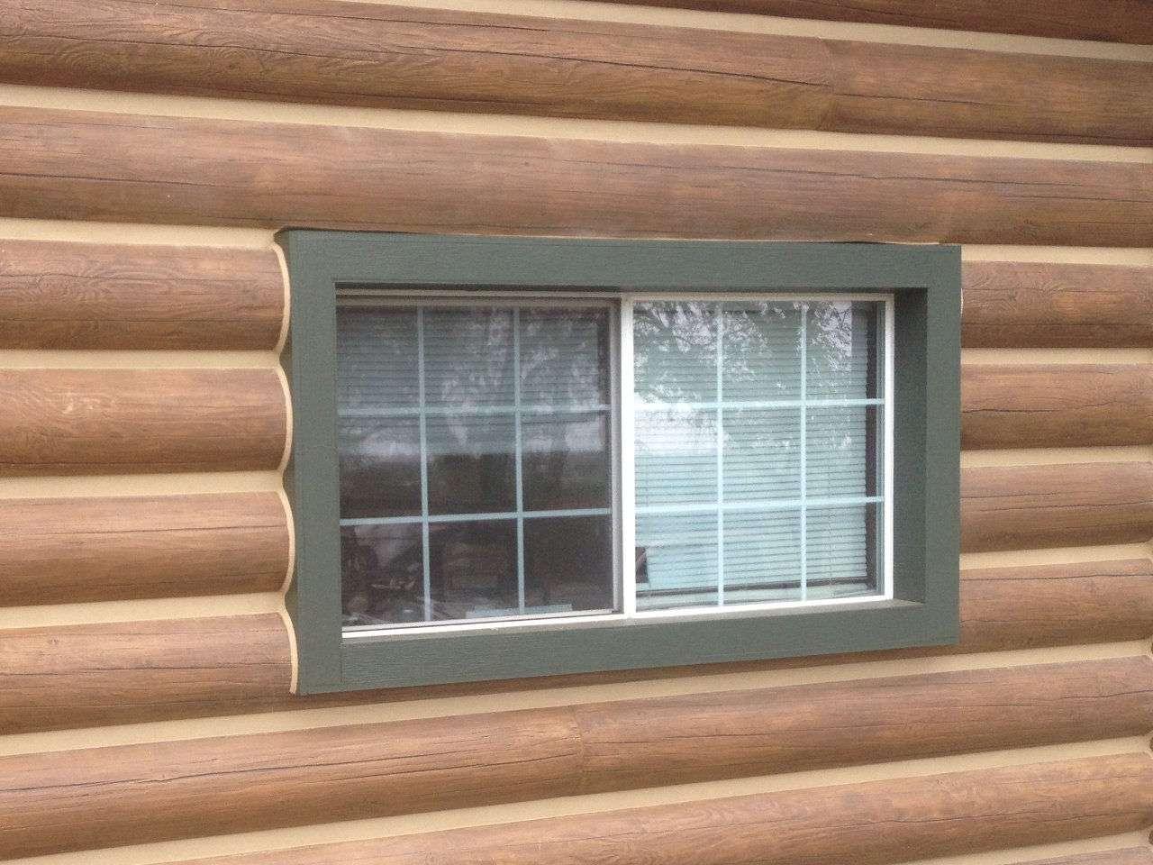 """12"""" Round EverLog Concrete Log Siding Profile"""