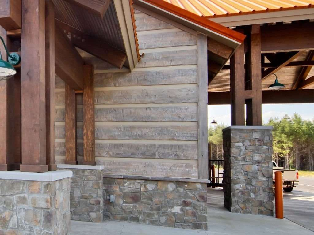 Everlog Concrete Log Siding Profiles And Colors
