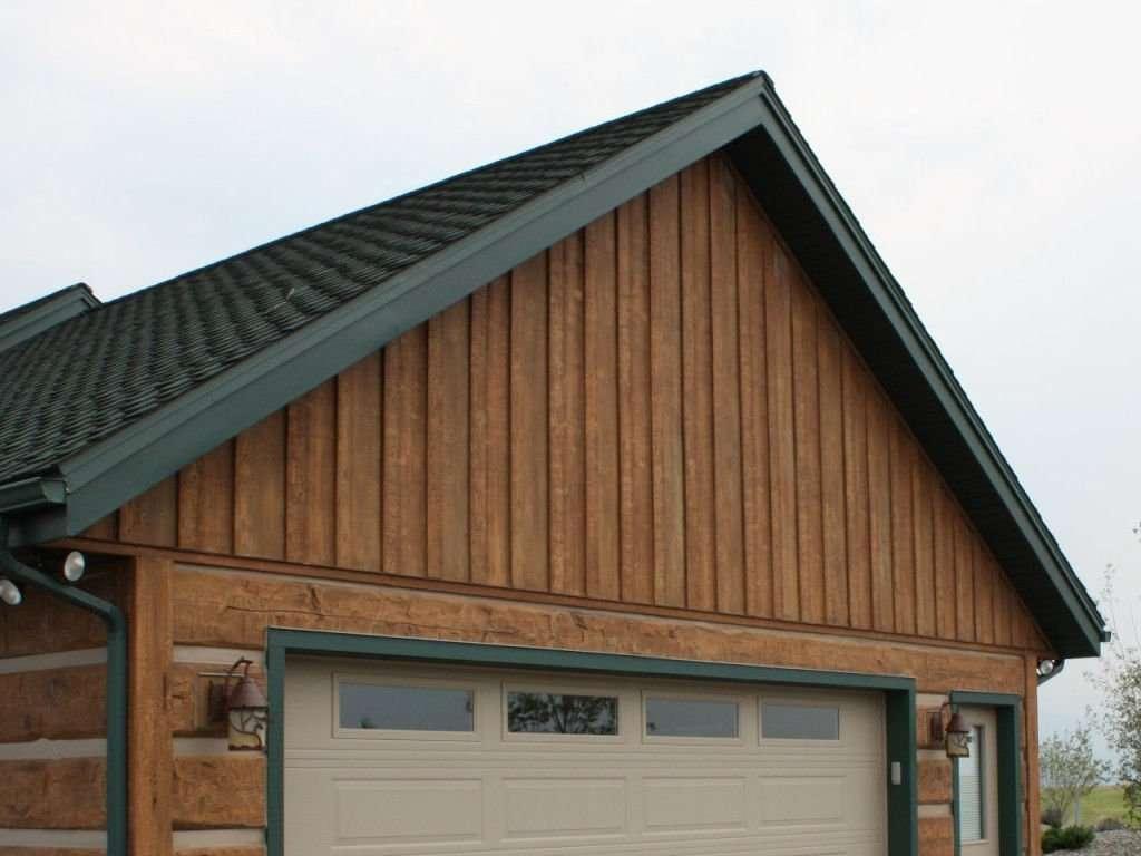 Exterior: EverLog Concrete Log Siding Profiles And Colors