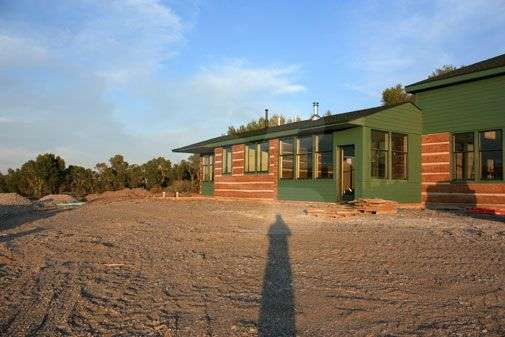 Image of Cody Residence - made with Everlogs Concrete Logs, Siding, and Timbers