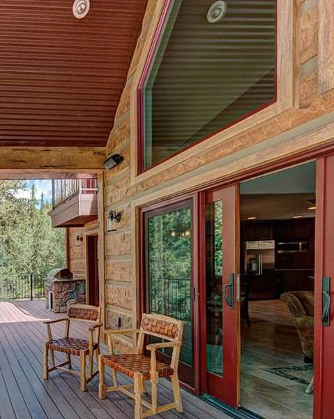 Image of Grant, Colorado Residence - made with Everlogs Concrete Logs, Siding, and Timbers