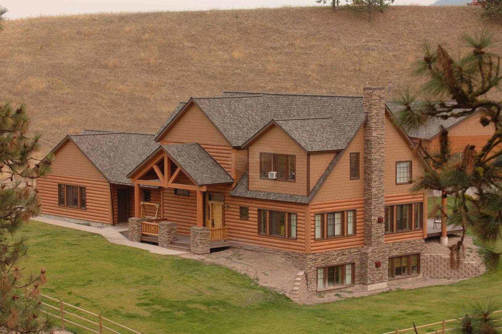 100 Siding House Everlog Systems Concrete Log Homes