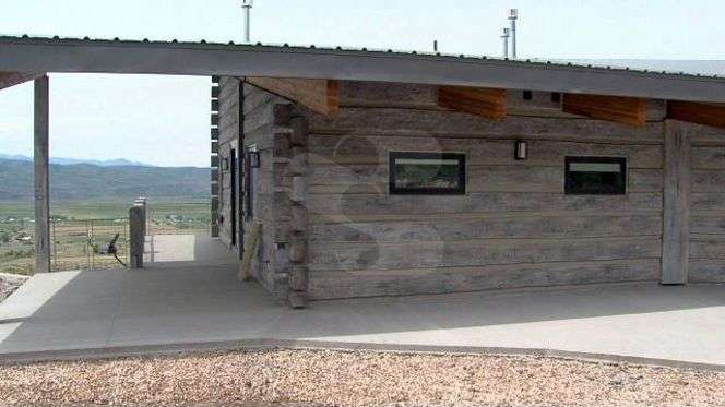 Image of Kamas, Utah Residence - made with Everlogs Concrete Logs, Siding, and Timbers