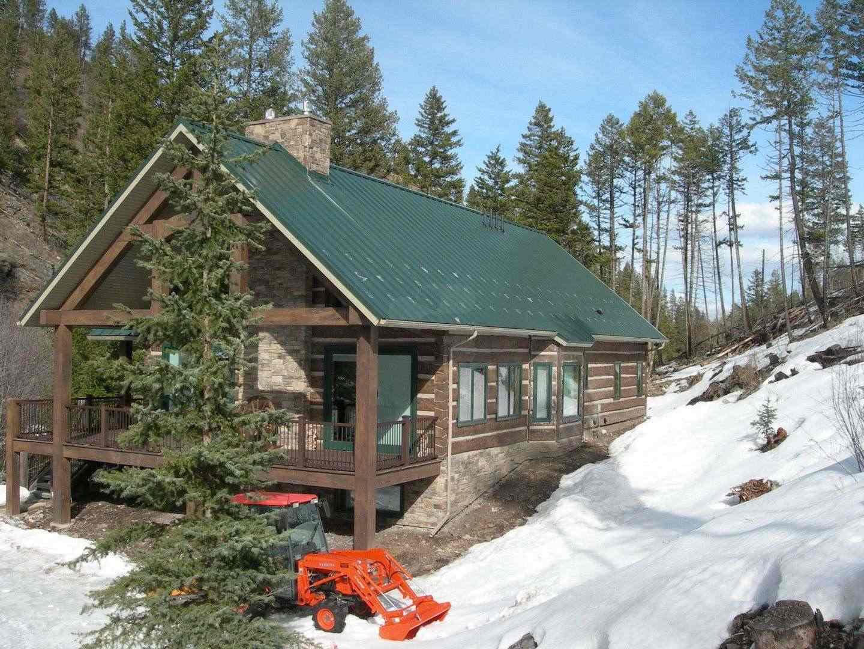 Missoula Montana Concrete Log Home Everlog Systems