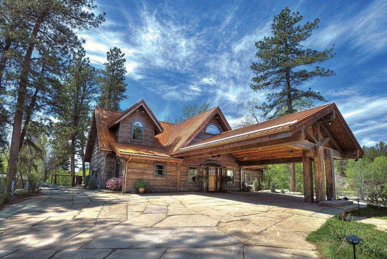 Image of Nelson Residence - made with Everlogs Concrete Logs, Siding, and Timbers
