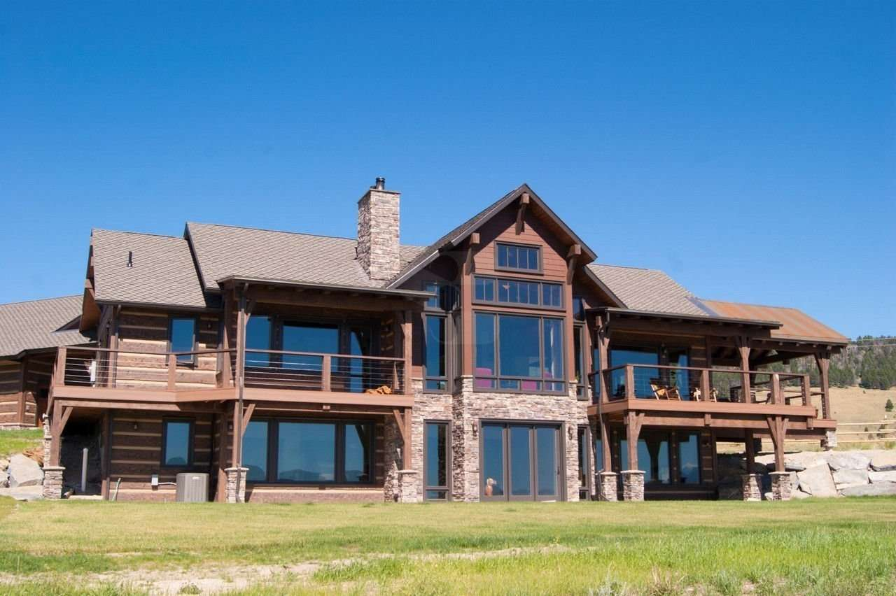 Amazing photo of About EverLog Systems Build A Worry Free Concrete Log Home with #1A66B1 color and 1280x852 pixels