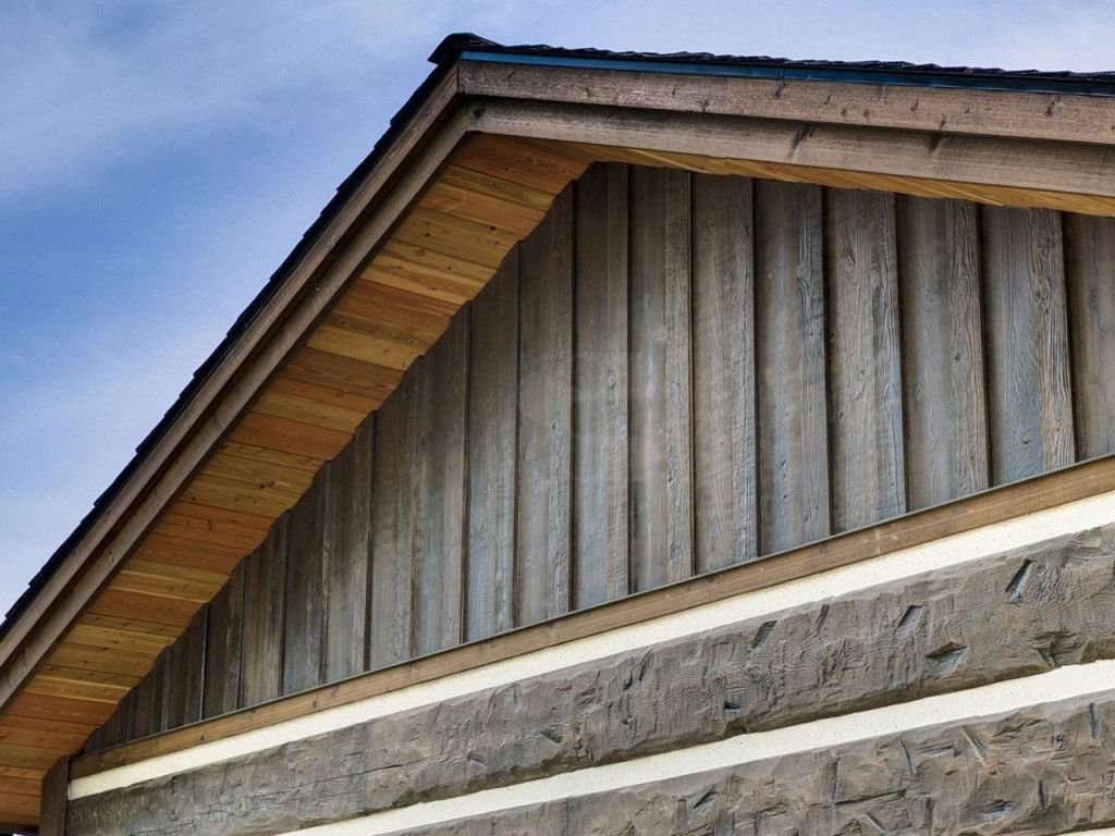 Everlog concrete log siding profiles and colors for Type of siding board