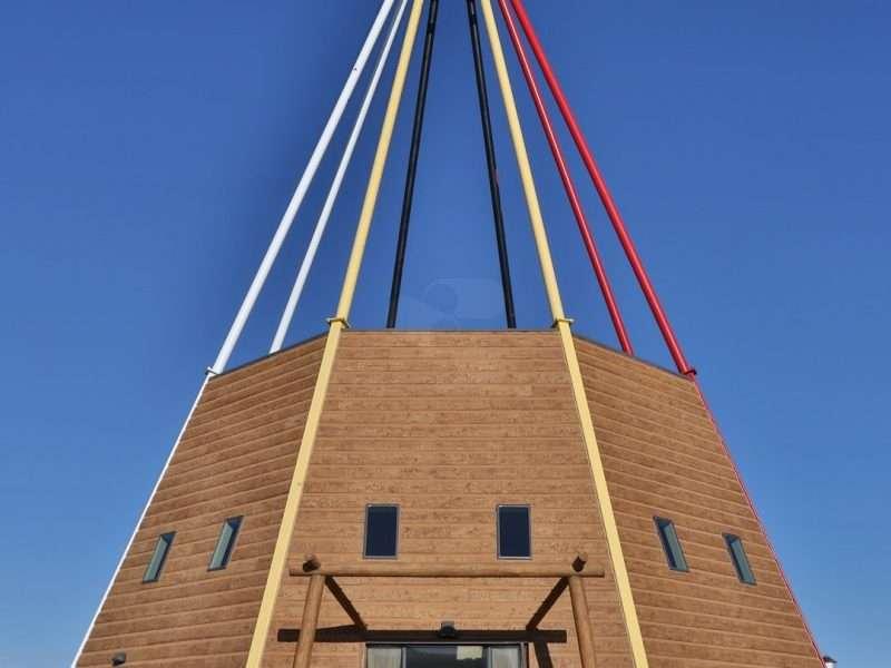 Sinte Gleska University Lakota Studies Tipi