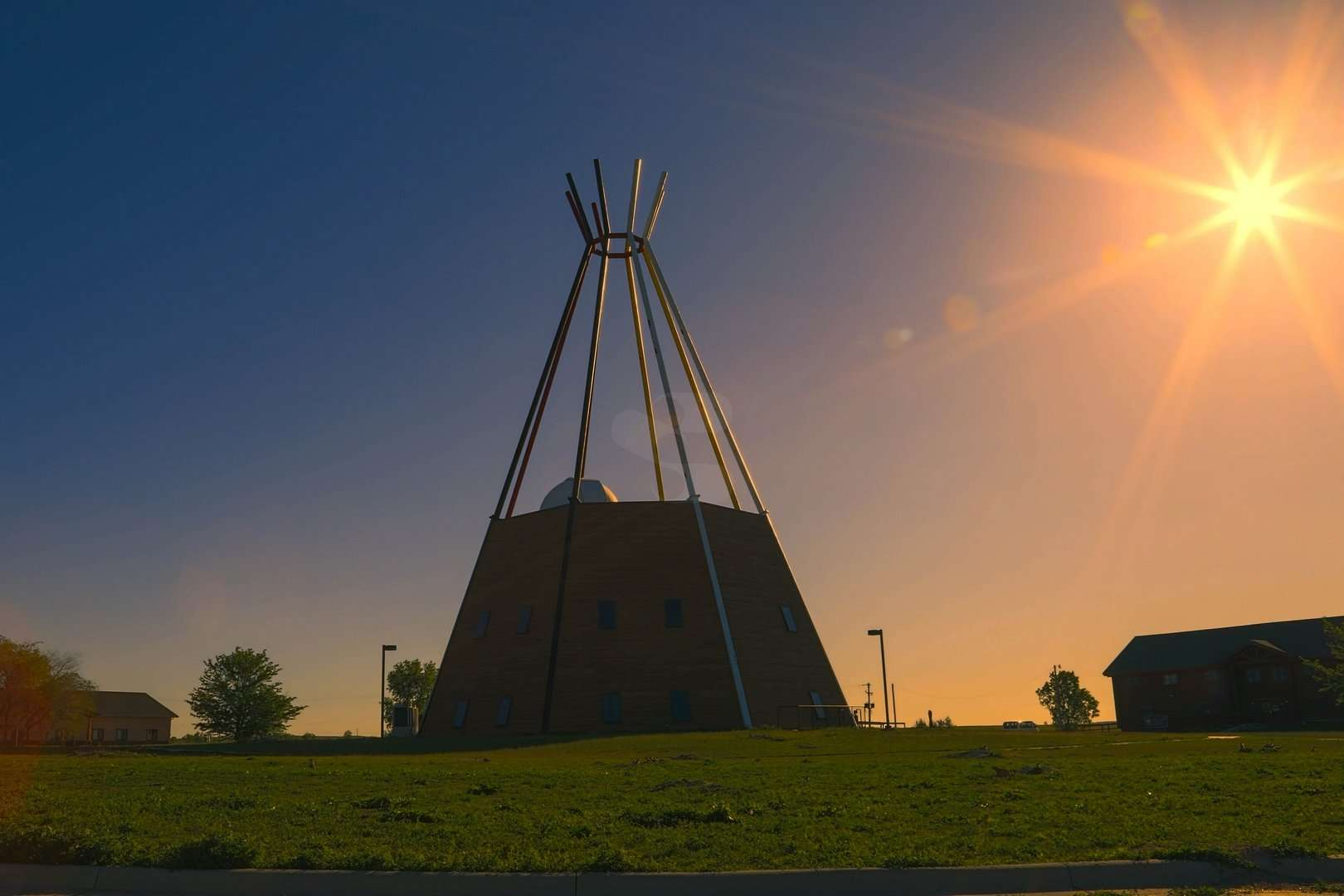 Lakota Studies Building Sinte Gleska University Mission