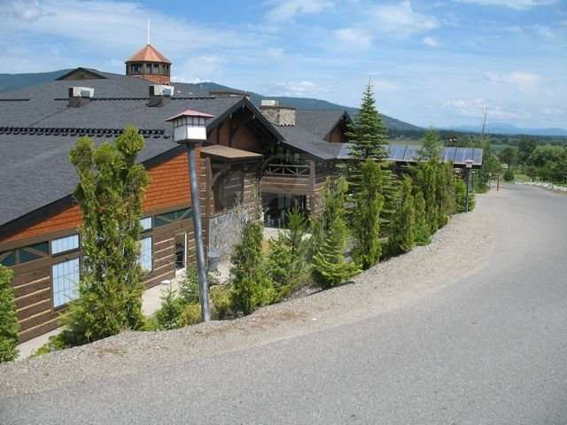 Image of Stoneridge Resort, Blanchard, Idaho - made with Everlogs Concrete Logs, Siding, and Timbers