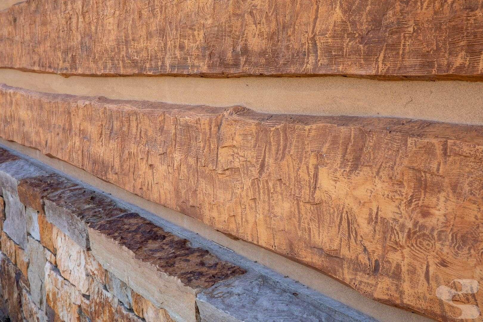 Teton Village Ranch Lot Warming Rest Area Concrete Log Building