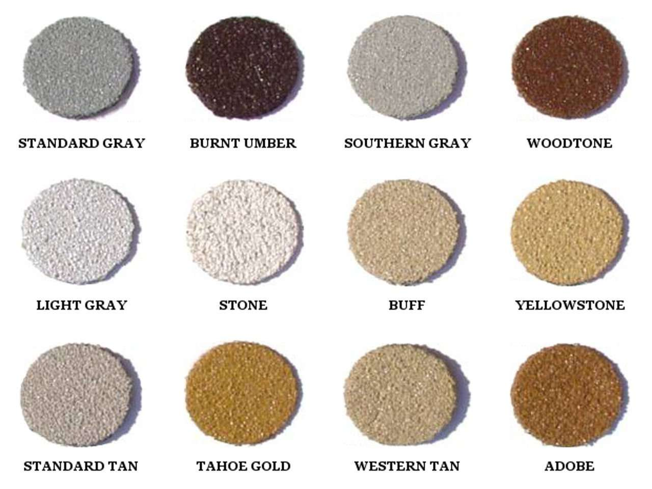 Standard Weatherall Chinking Colors Available