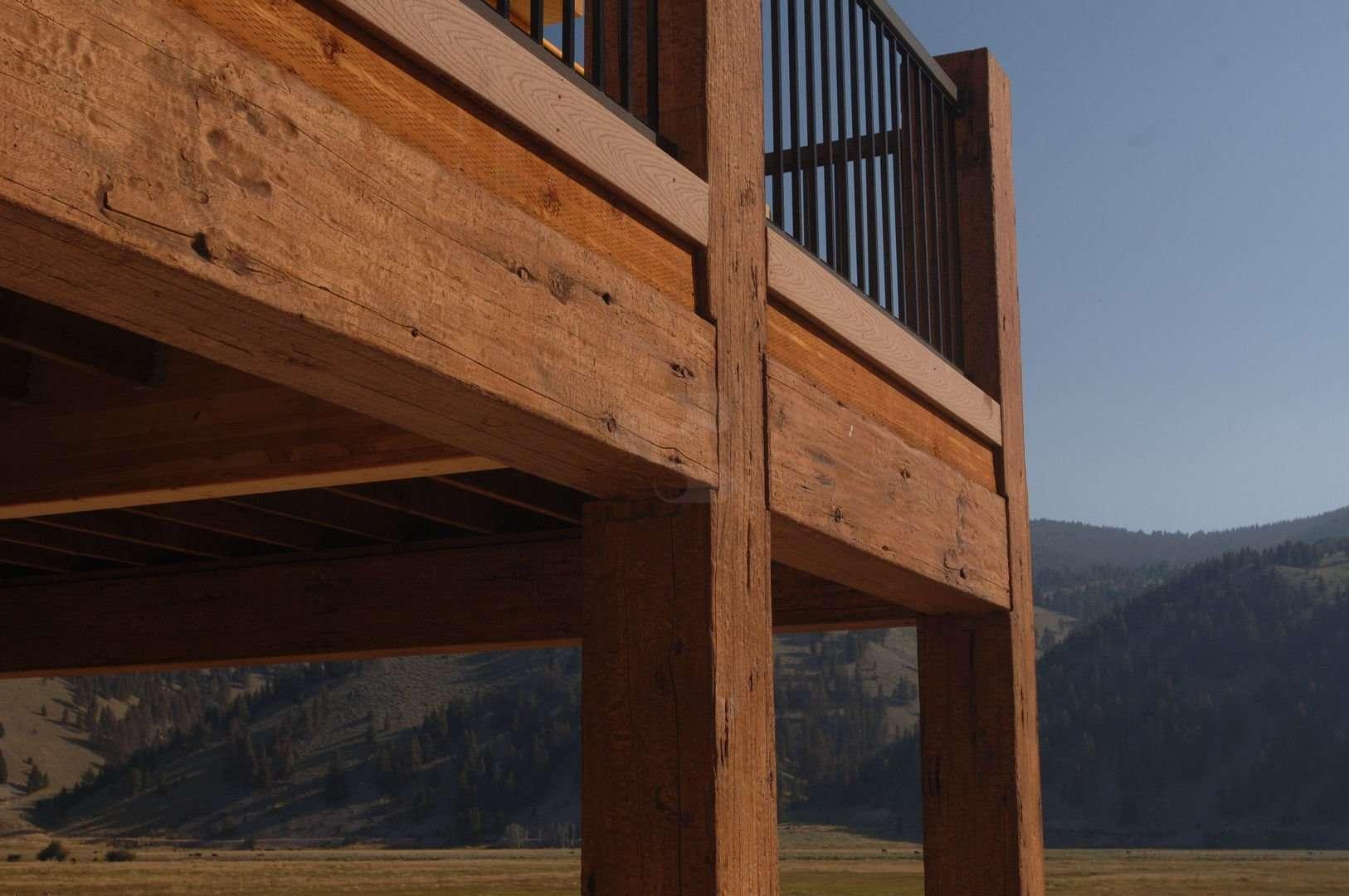 Wise River Concrete Log Home 14