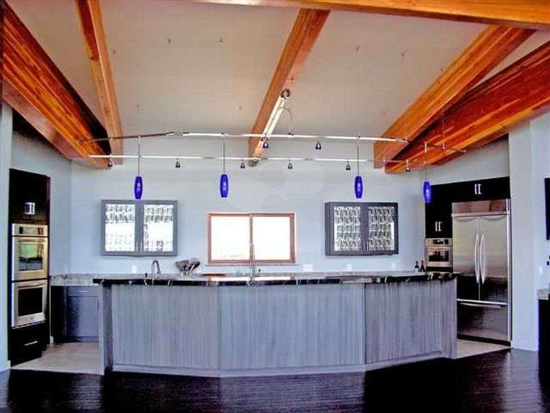 Image of Kitchen project - made with Everlogs Concrete Logs, Siding, and Timbers