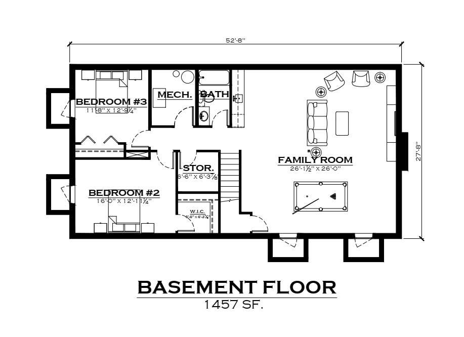 EverLog Systems the Telluride Basement Plan