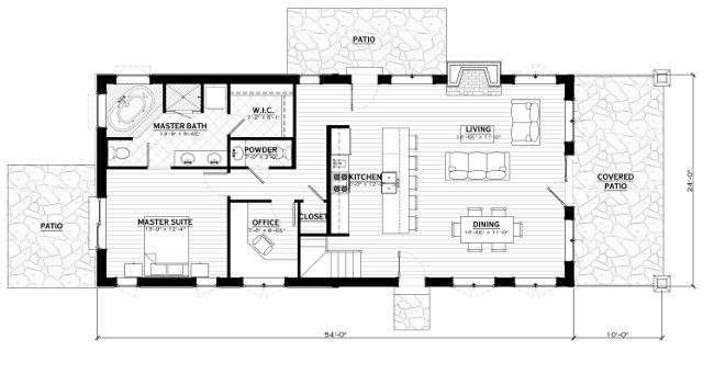 EverLog Systems the Rendezvous Main Floor Plan