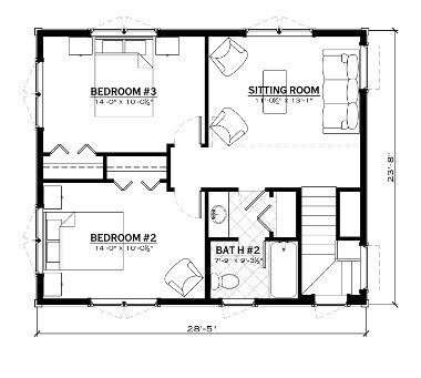 EverLog Systems the Rendezvous Second Floor Plan