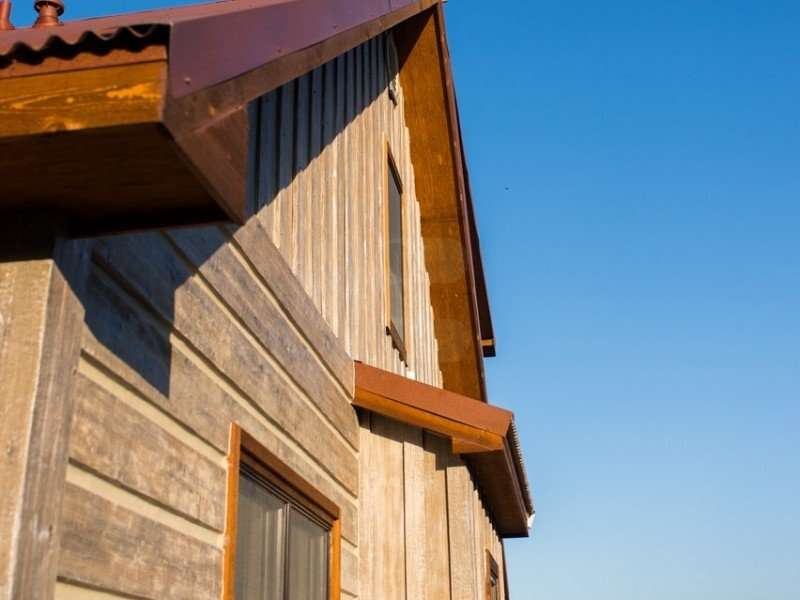 Image of Featured Home: Cedar Vale, Kansas - made with Everlogs Concrete Logs, Siding, and Timbers