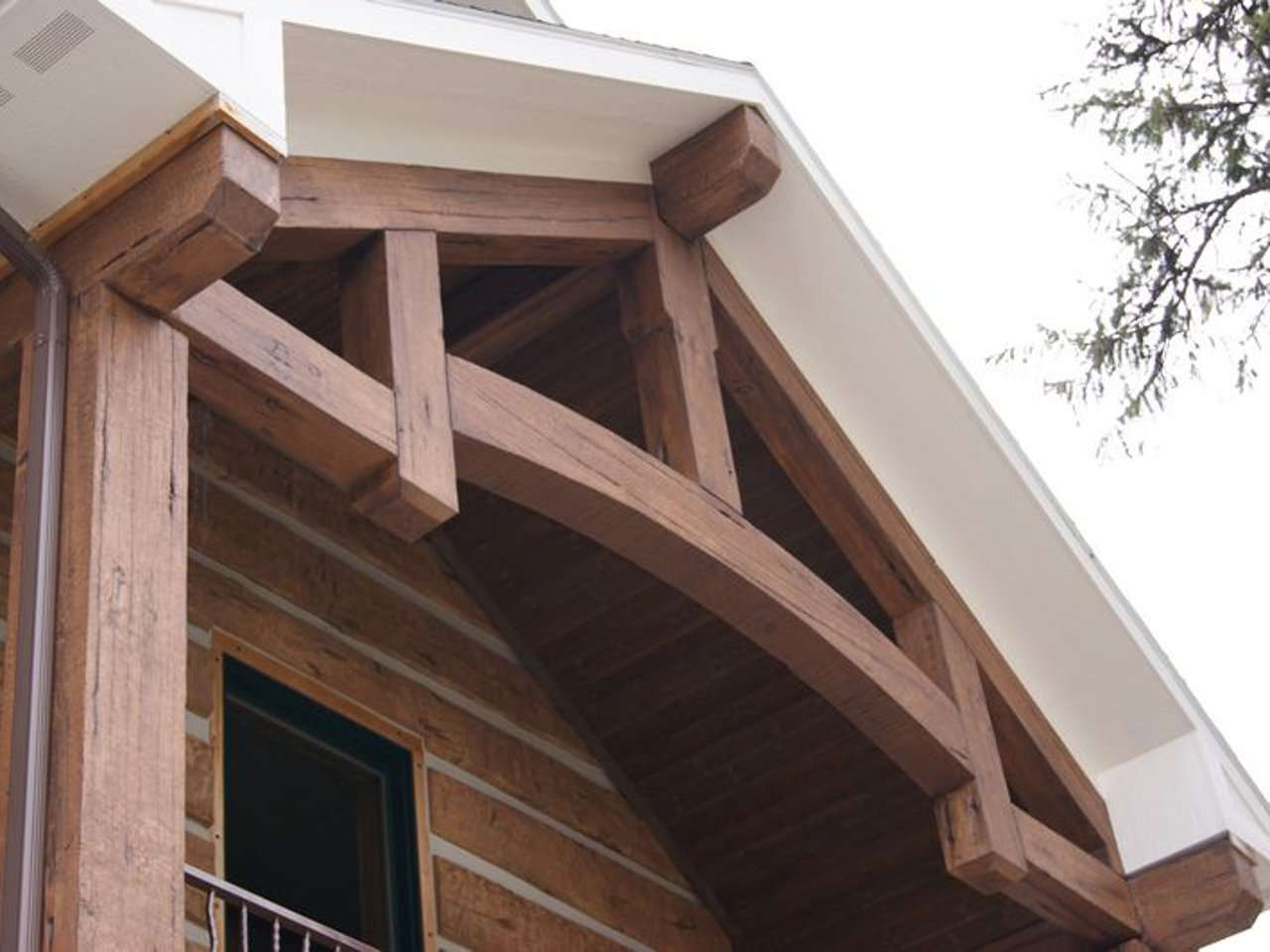 EverLog Concrete Timber Truss