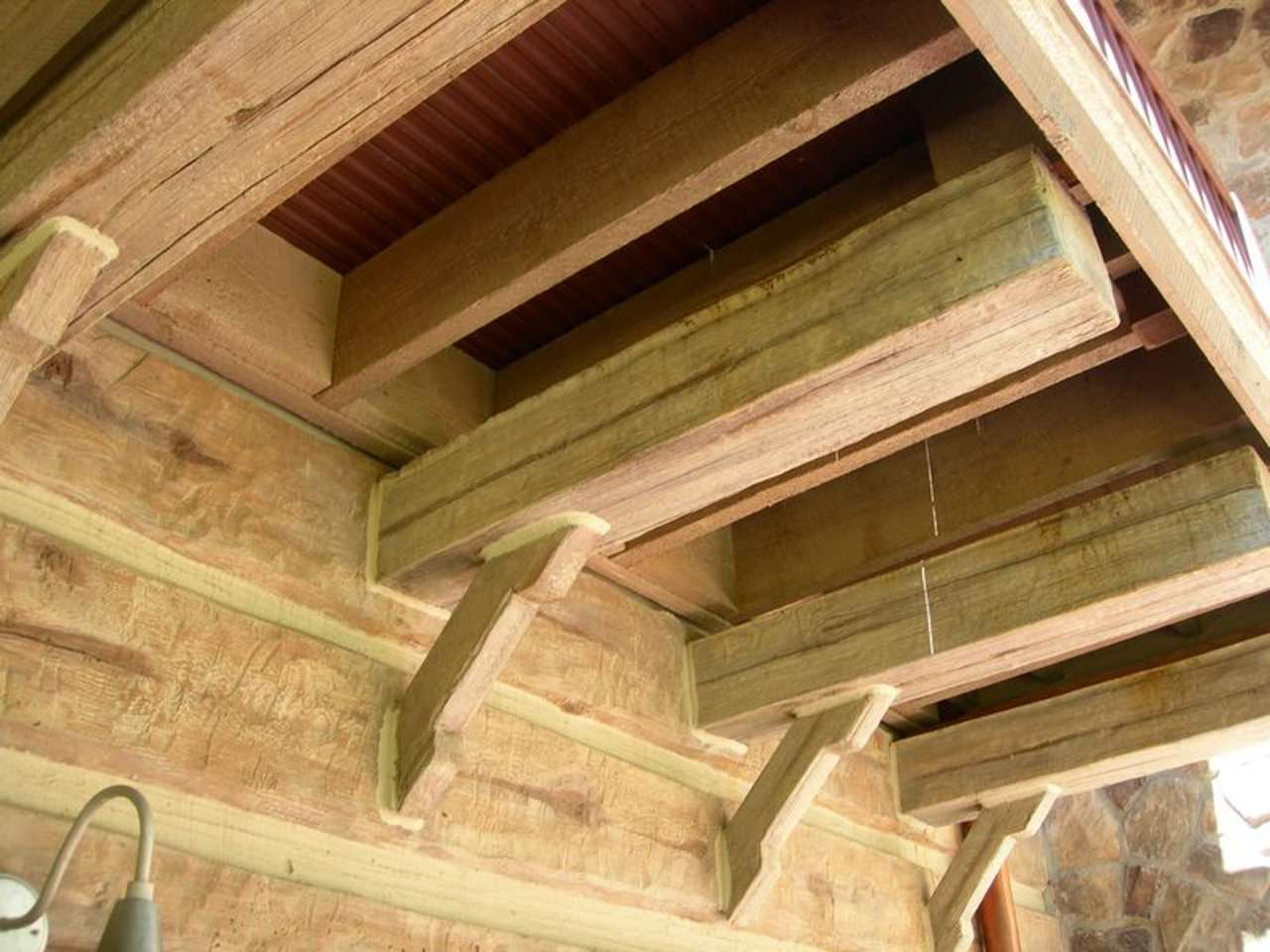 EverLog Timber Accent Concrete Joists