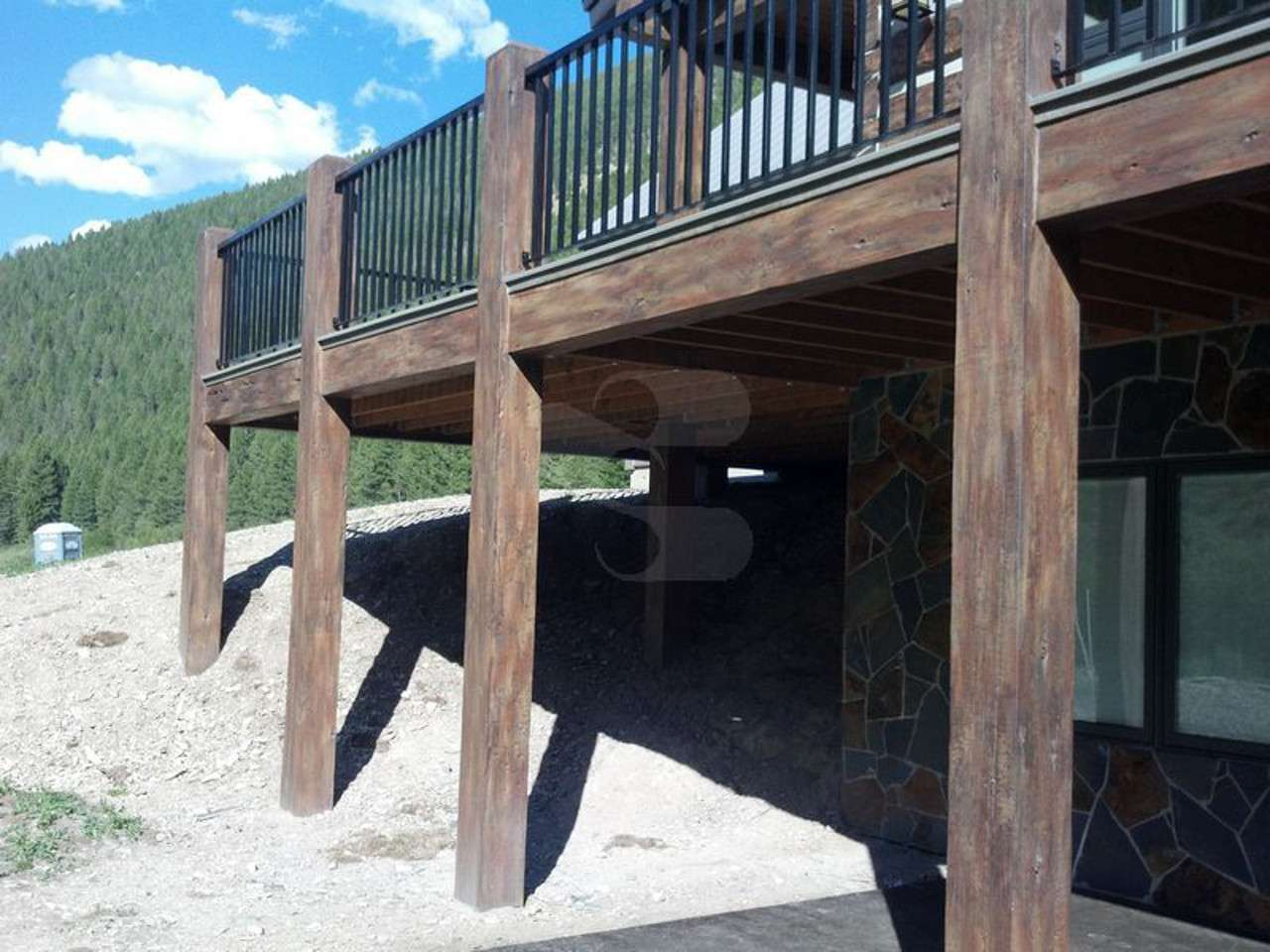 EverLog Concrete Timber Patio Beam