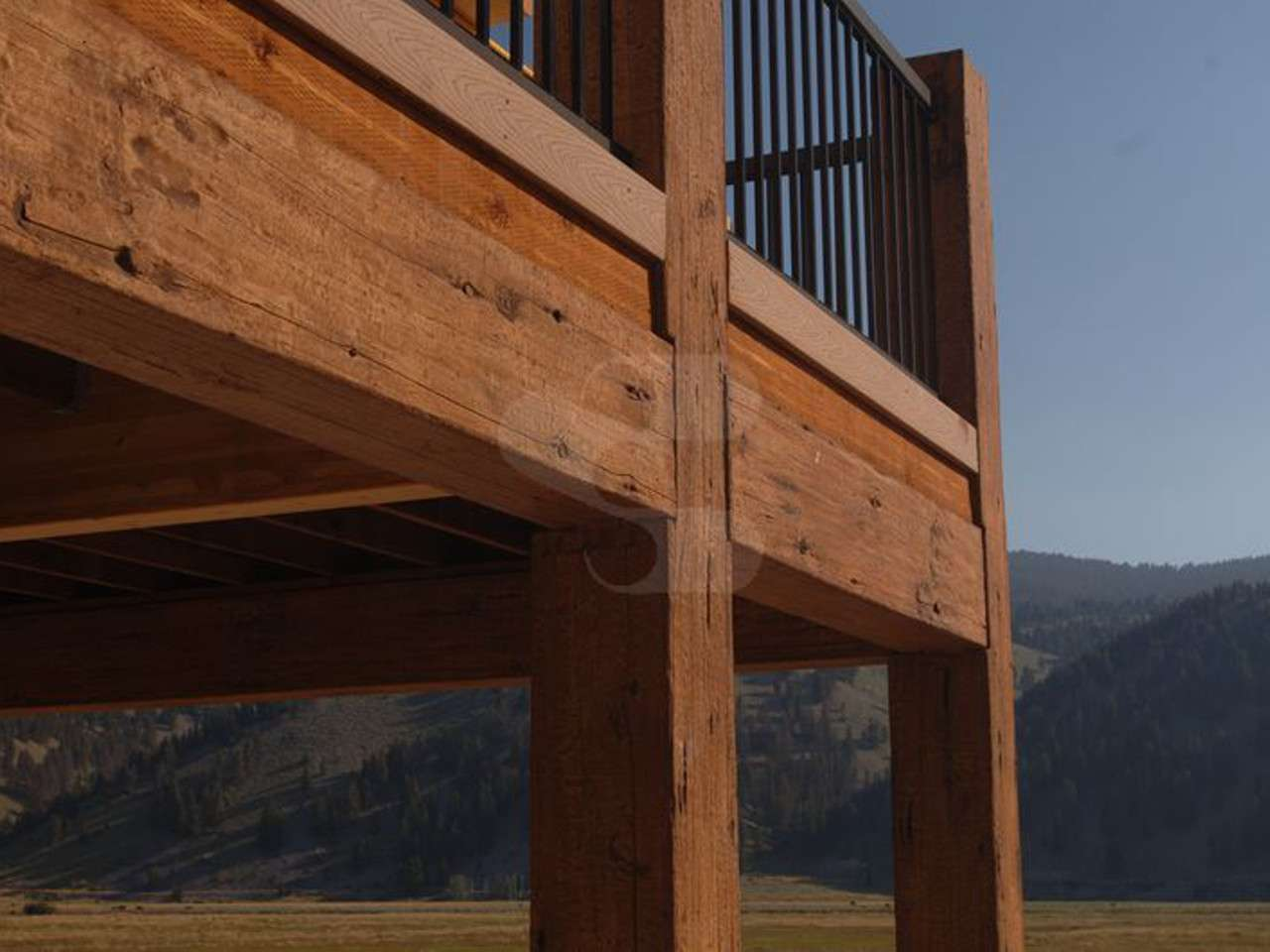 EverLog Concrete Timber Deck Beam