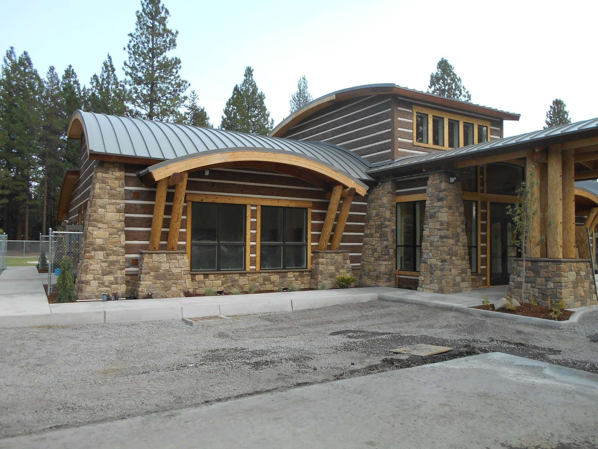 klamath tribes choses concrete log siding everlog systems
