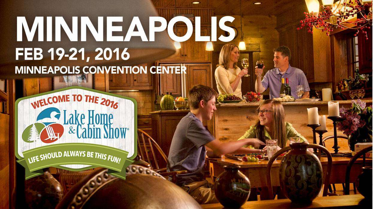 Come visit EverLog Systems at the 2016 Lake Home & Cabin Show in Minneapolis, MN