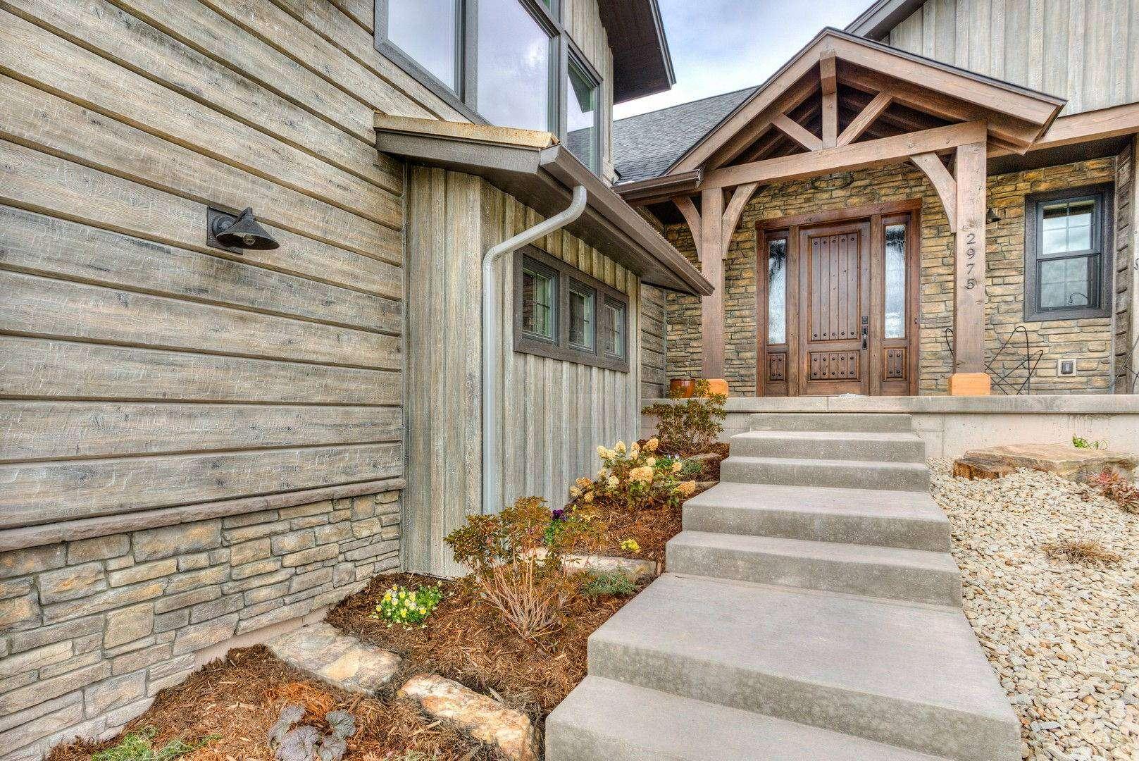 Concrete Siding For Homes : Golf retreat home missoula montana everlog systems