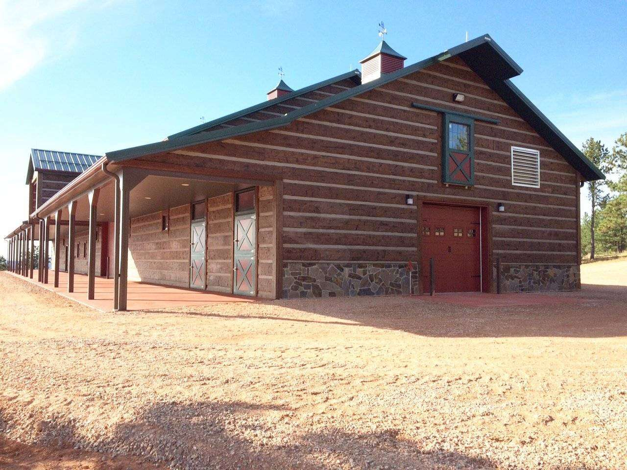 Barn and Stable, Four Corners, Wyoming - EverLog Systems