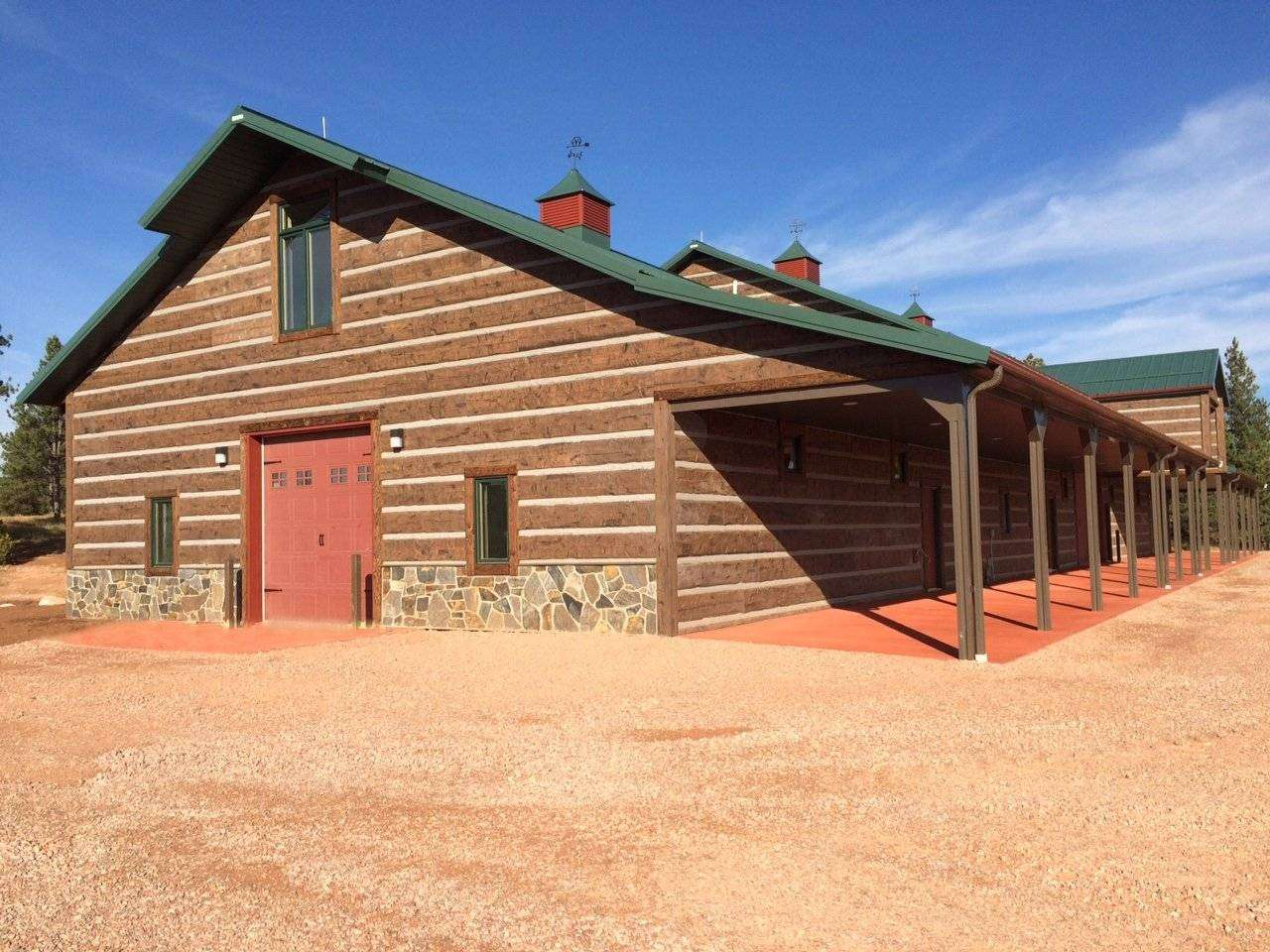 Barn And Stable Four Corners Wyoming Everlog Systems