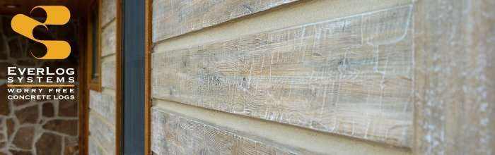 EverLog Systems - Maintenance Free Concrete Log Siding