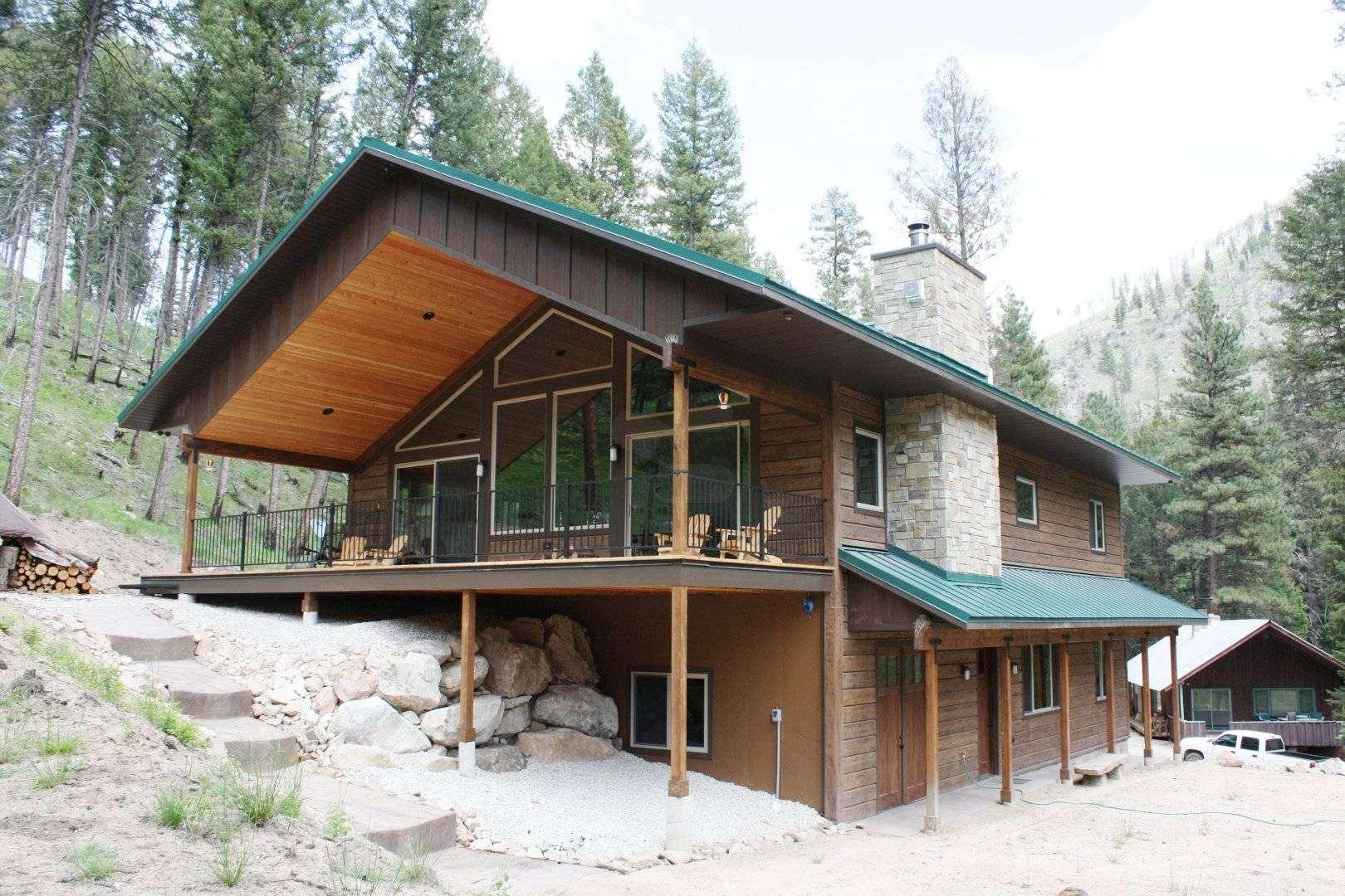 Missoula montana log siding residence everlog systems for Concrete log cabins