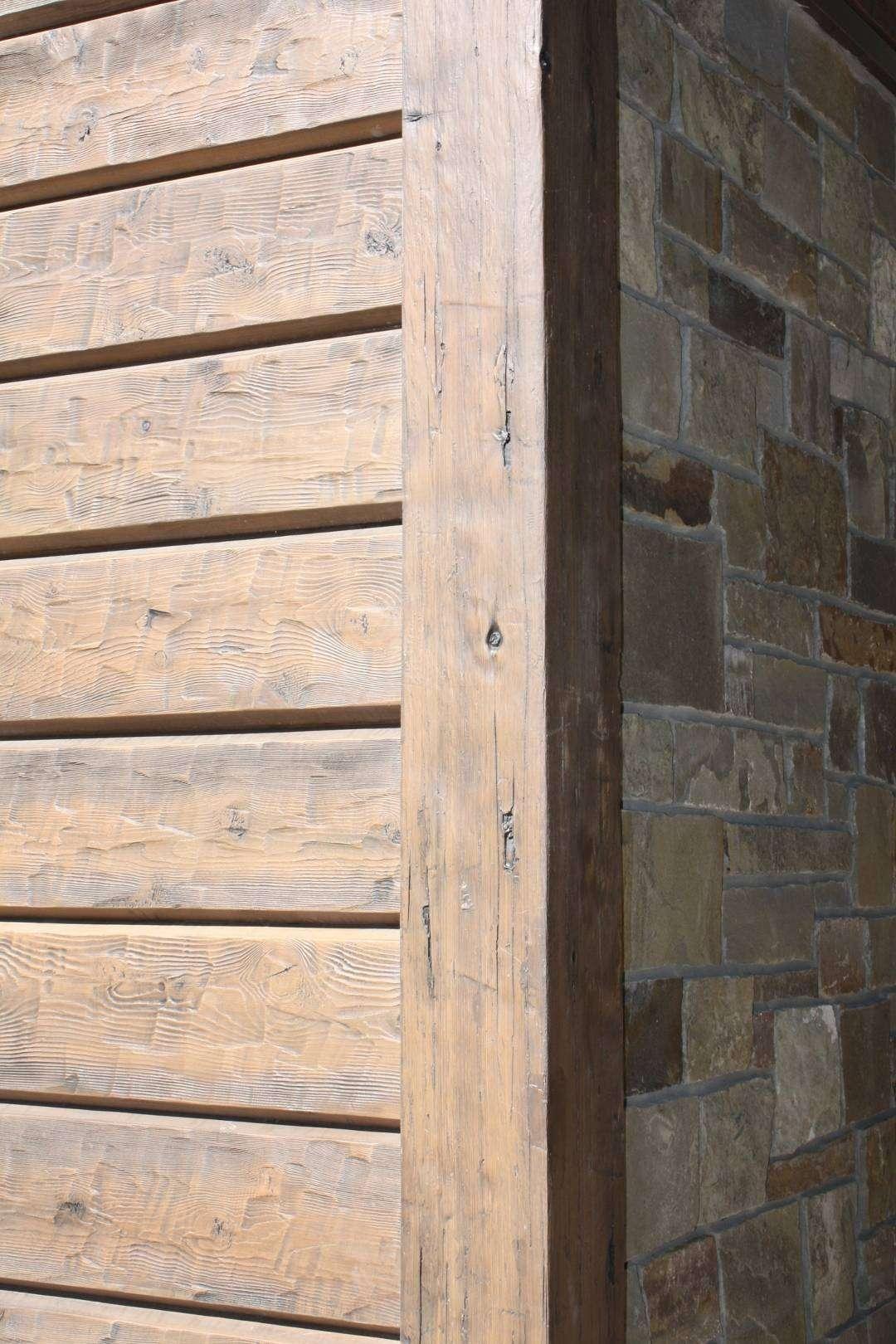 Cement Siding On Concrete : Retreat cabin sula montana everlog systems