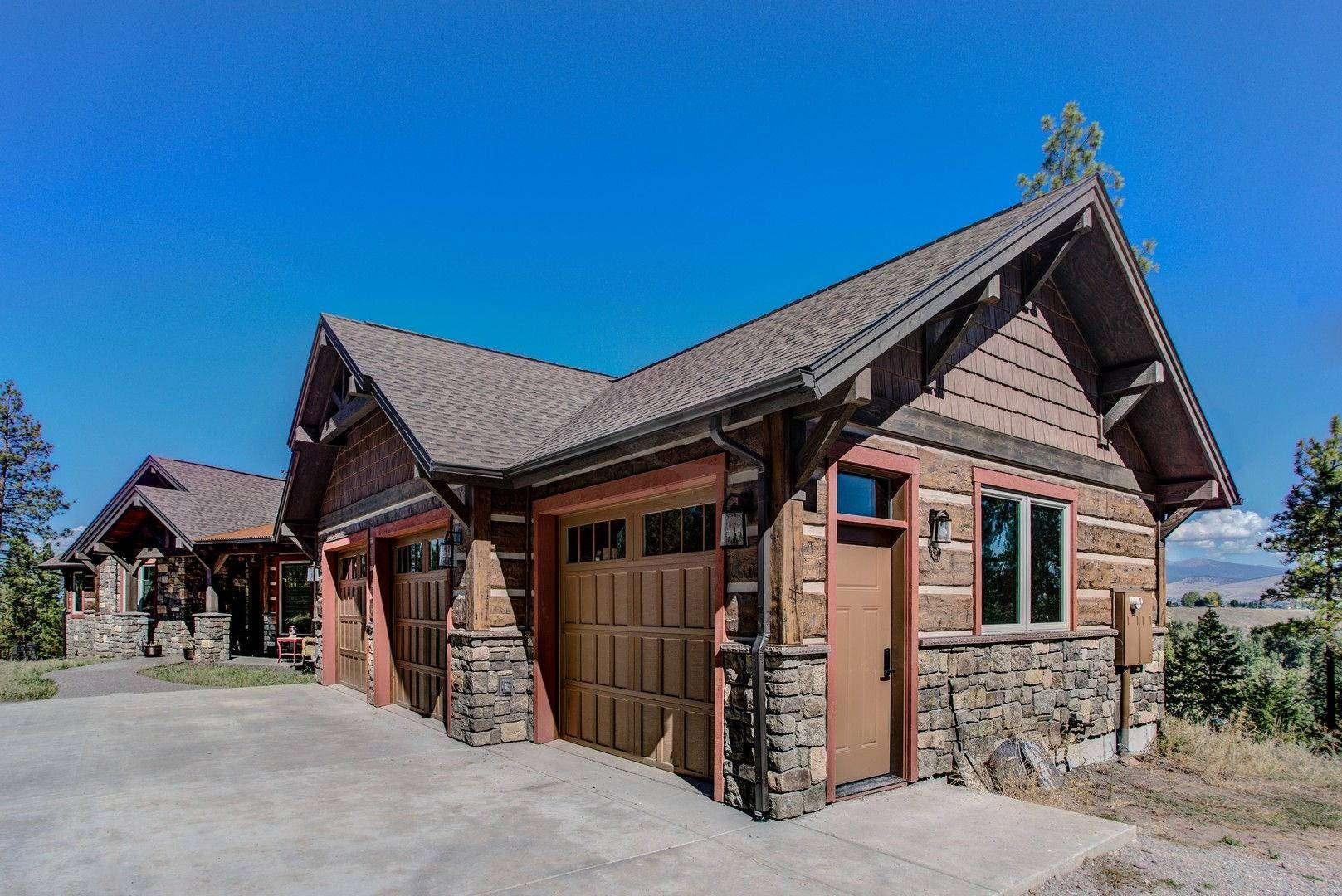 Missoula Montana Log Siding Residence Everlog Systems