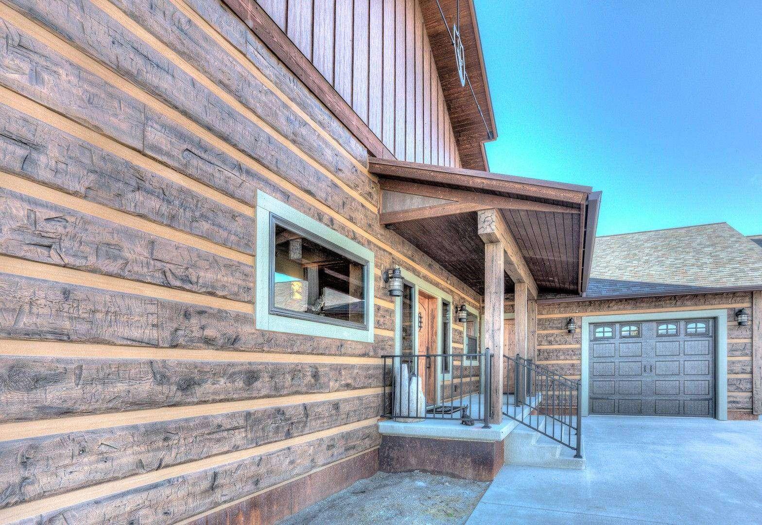 Concrete Siding For Homes : Florence montana timber log siding everlog systems