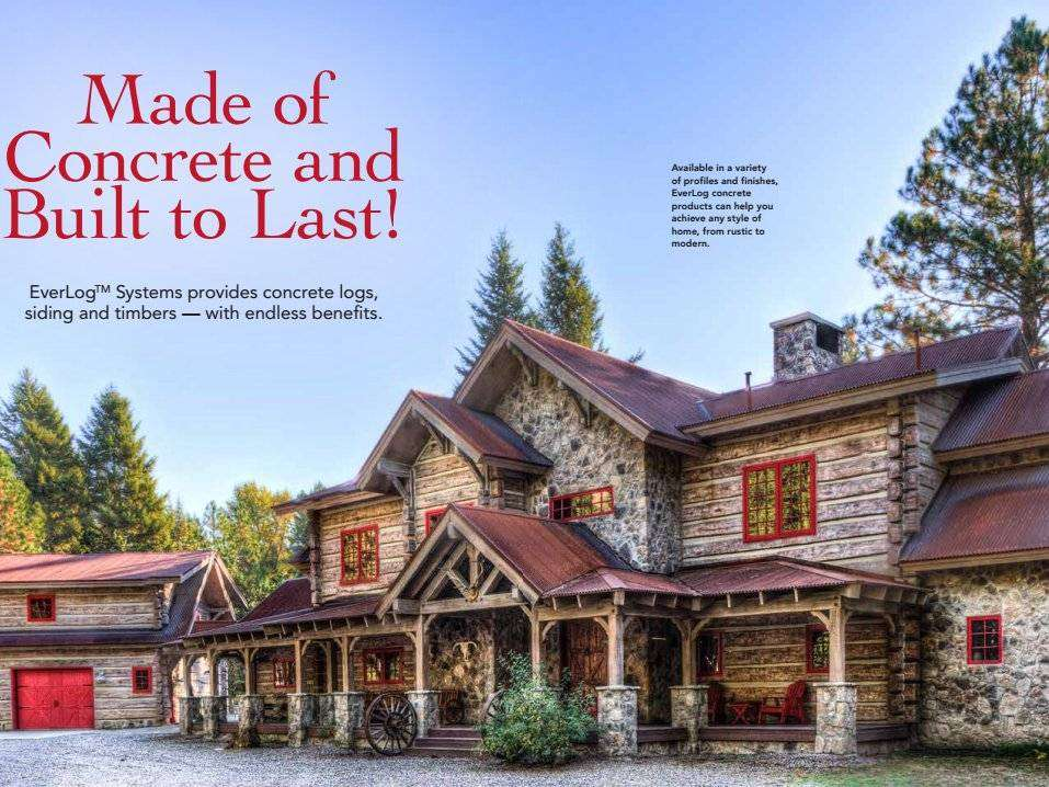 EverLog Systems Log Home Living Article