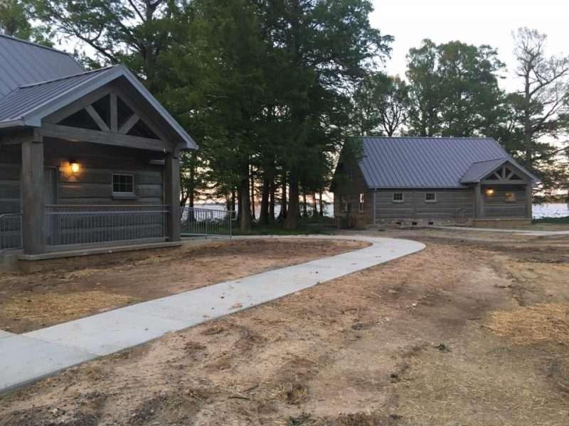EverLog Reelfoot Lake State Park Rental Concrete Log Cabins