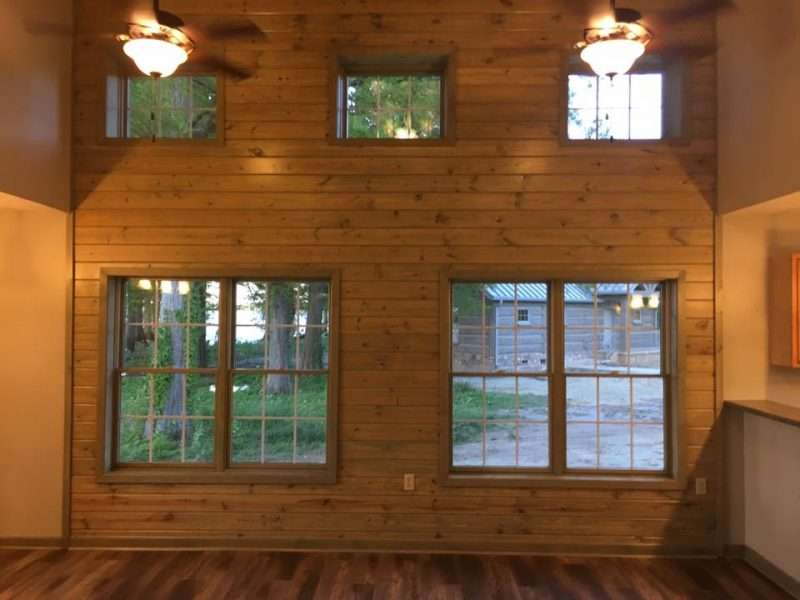 EverLog Reelfoot Lake State Park Rental Concrete Log Cabins