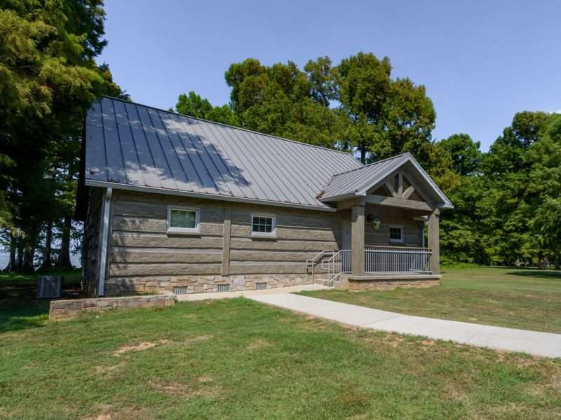 Reelfoot Lake State Park Tennessee Concrete Log Cabin Rentals